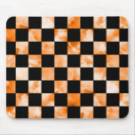 Marble Checkerboard Mouse Pads