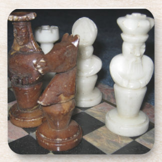 Marble Chess Pieces Coaster