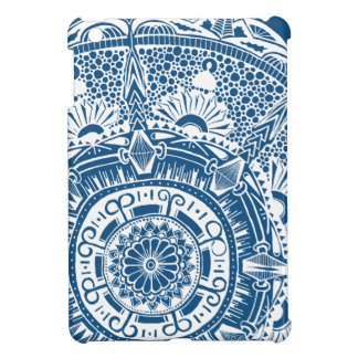 Marble circle ipad savvy case bohemian mandala art case for the iPad mini