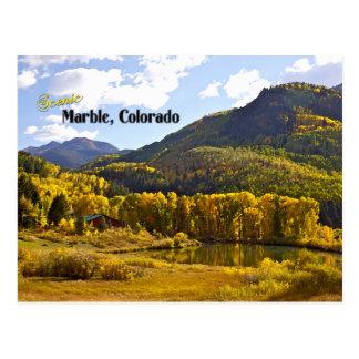 Marble, Colorado - Vintage Style Postcard