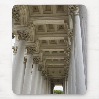Marble columns mouse pad
