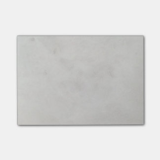 Marble Cream Background Grey Plaster Texture Post-it® Notes