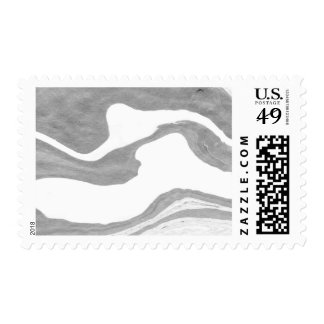 Marble custom postage, .49 cent stamp