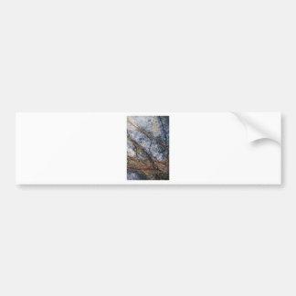Marble effect design bumper sticker