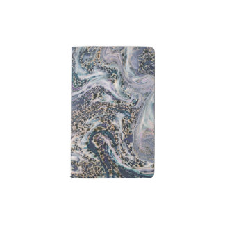 Marble Effect Stylish Moleskine Pocket Notebook