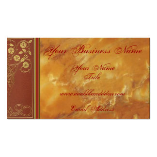 Marble Elegance Business Card