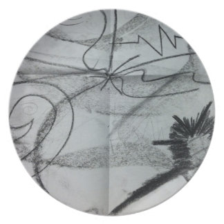 Marble-esque Plate
