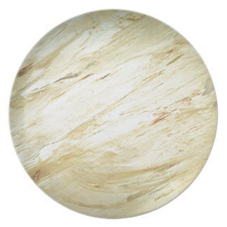 Marble Faux Finish Dinner Plate