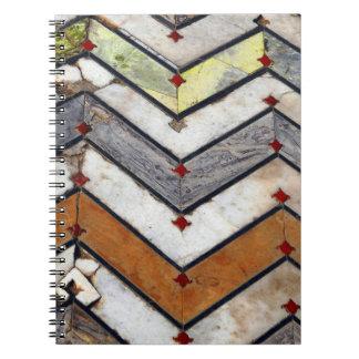 Marble Floor Notebook