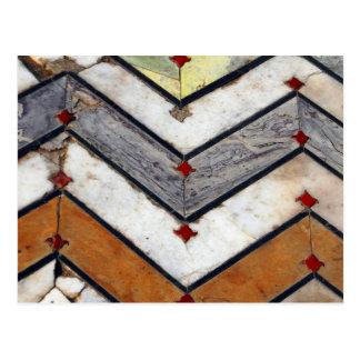 Marble Floor Postcard