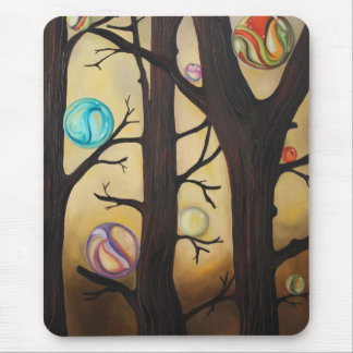 Marble Forest Mouse Pad