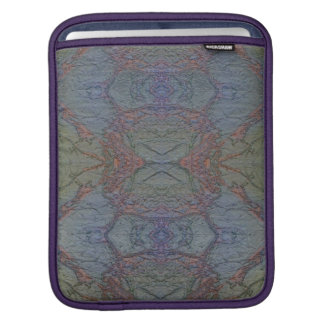 Marble FX Blue Foil iPad Sleeve