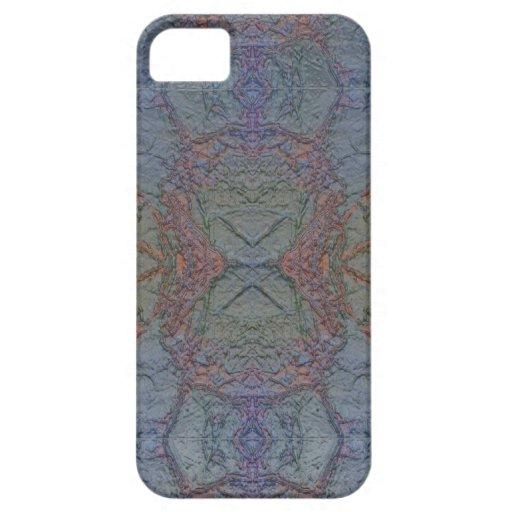 Marble FX Blue Foil iPhone 5 Case