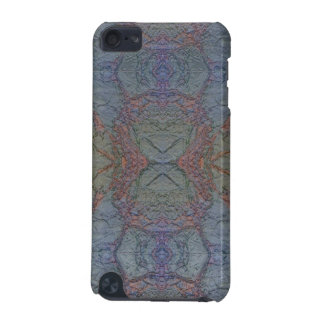 Marble FX Blue Foil Pattern iPod Case iPod Touch 5G Cover