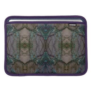 """Marble FX Purple Pattern Macbook Air Sleeve 11"""""""