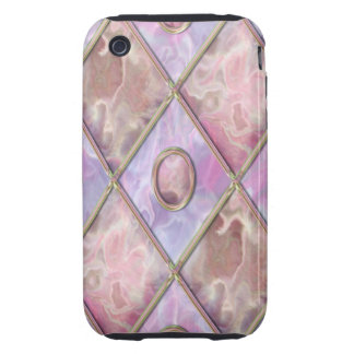 Marble & Glass Argyle iPhone 3 Tough Cases