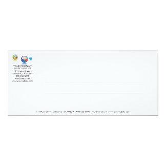 Marble Glass Series No.5 Invitation Card