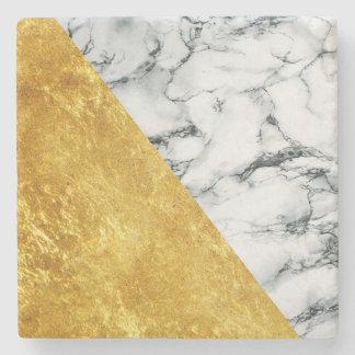 Marble + Gold Stone Coaster