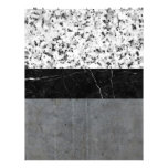Marble, Granite, and Concrete Abstract Letterhead