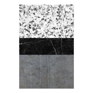Marble, Granite, and Concrete Abstract Stationery