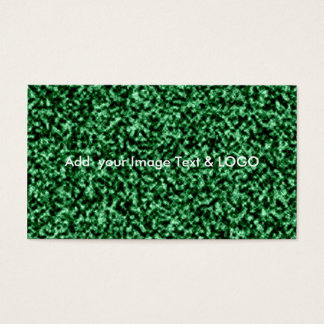 marble green temlate business card