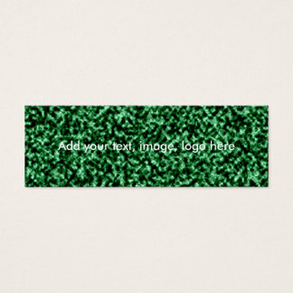 marble green temlate mini business card