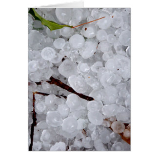 Marble Hail and Debris Card