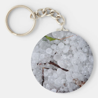 Marble Hail and Debris Keychain