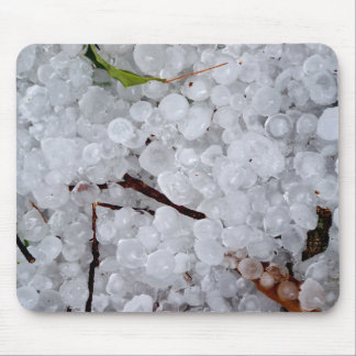 Marble Hail and Debris Mouse Pad