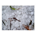 Marble Hail and Debris Post Card