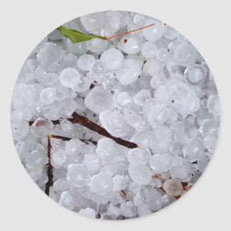 Marble Hail and Debris Stickers