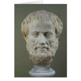 Marble head of Aristotle Cards