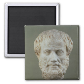Marble head of Aristotle Magnets