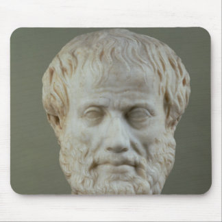 Marble head of Aristotle Mouse Pad