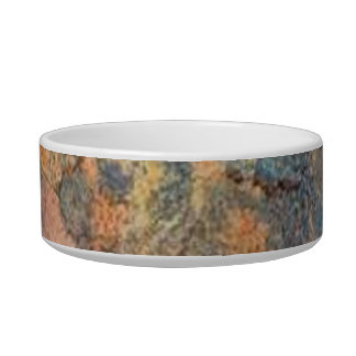 Marble in Blue and Pink Pet Water Bowls