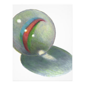 MARBLE IN COLOR PENCIL: REALISM ART FLYERS