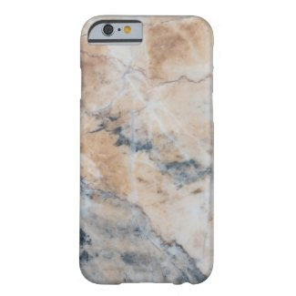 Marble in Light Beige And Gray G2 Barely There iPhone 6 Case