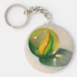 MARBLE IN OIL PASTEL KEYCHAIN