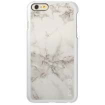 Marble Incipio Feather Shine iPhone 6 Plus Case