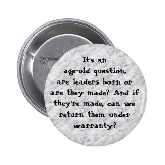 marble, It's an age-old question,are leaders bo... Pins