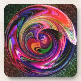 Marble-ized Coaster