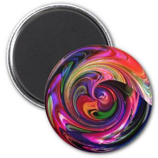 Marble-ized Fridge Magnets