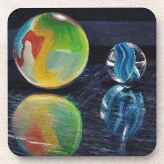 Marble Light Drink Coaster
