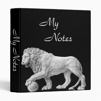 Marble Lion Binder Template