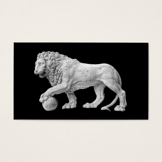 Marble Lion Business Card Template