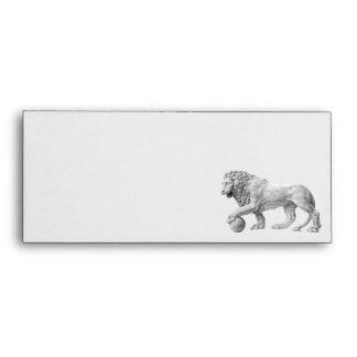Marble Lion Envelope