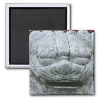 Marble Lion - magnet
