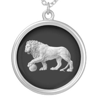 Marble Lion Necklace