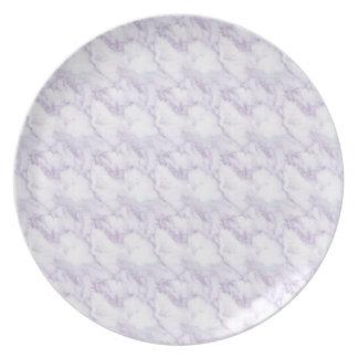 Marble Melamine Plate