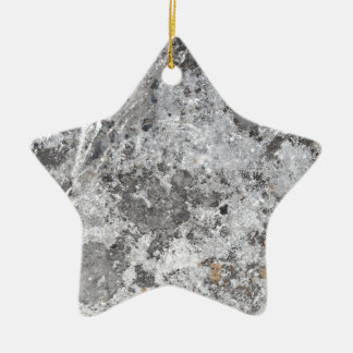 Marble mold texture ceramic ornament